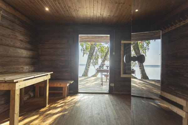 Ranna Recreation Centre, sauna anteroom