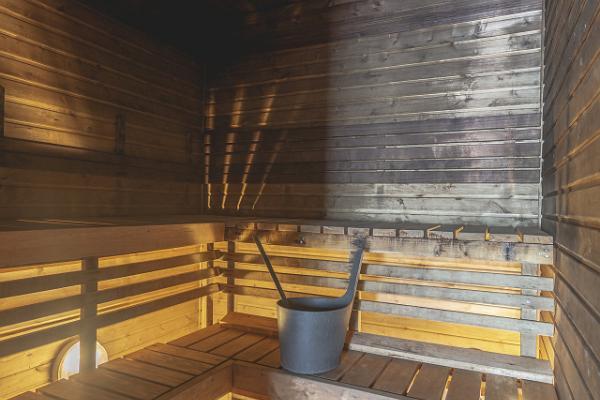 Ranna Recreation Centre, sauna