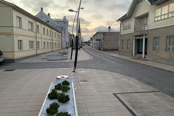 Pikkgatan i Rakvere