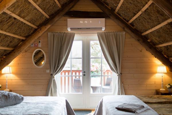 Zimmer Piiliroog des Bauernhofs Meela mit Erholungsanlage