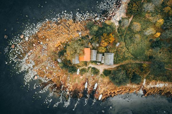 Рыбацкая деревня Алтья