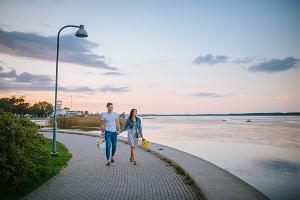 Walk on the Haapsalu Promenade