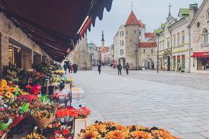 Tallinas puķu tirgus