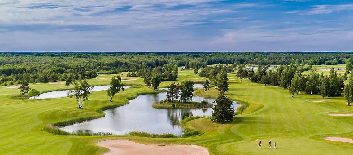 Golf in Estland: die besten Plätze