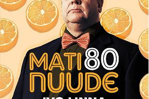 """""""Mati Nuude 80"""" meenutuskontserdi plakat"""