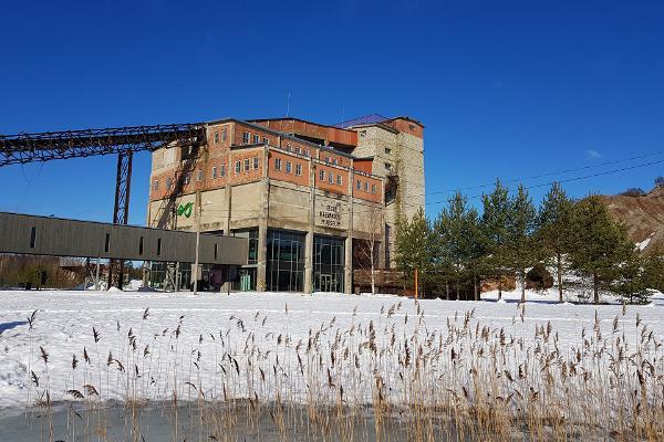 Eesti Kaevandusmuuseumi külastuskeskuse hoone