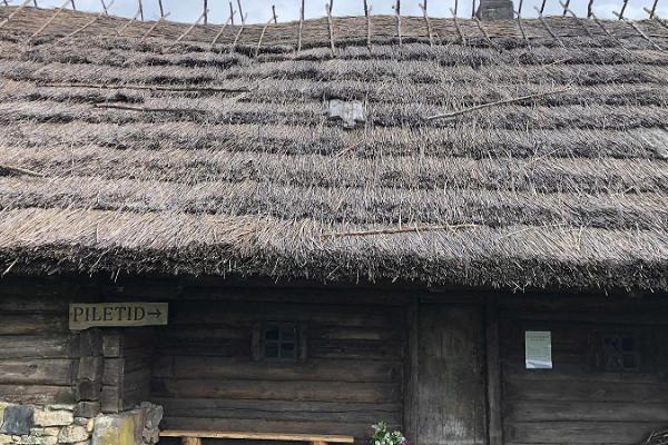 Filmi Vargamäe Külastuskeskus välisvaade