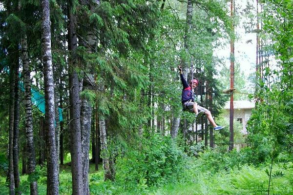 Adrenaliinirohked seiklused keset rohelust Taevaskoja Seikluspargis