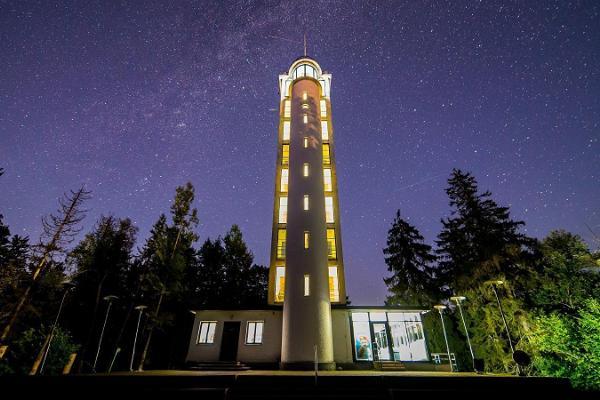 Observation tower on Suur Munamägi