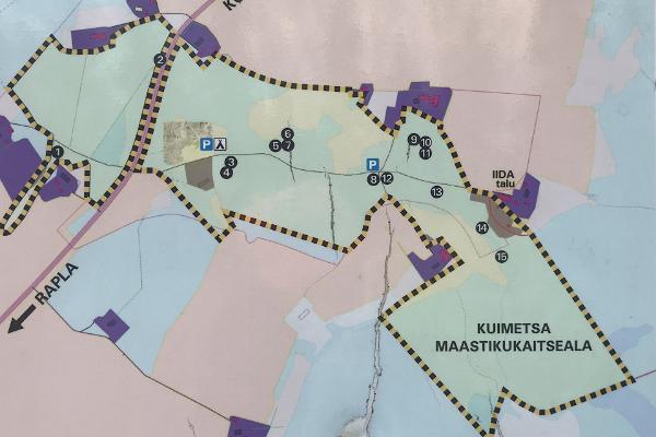 Das Karstgebiet Kuimetsa