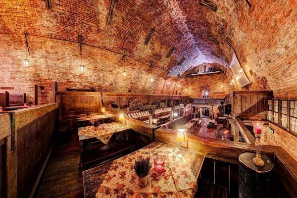 Püssirohukelder Restaurant was used as a gunpowder cellar until 1809