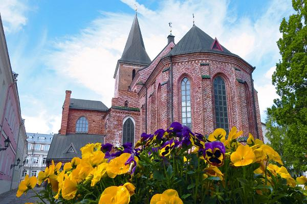 St. John's Church in Tartu, which is home to 10,000 terracotta sculptures about 700 years old