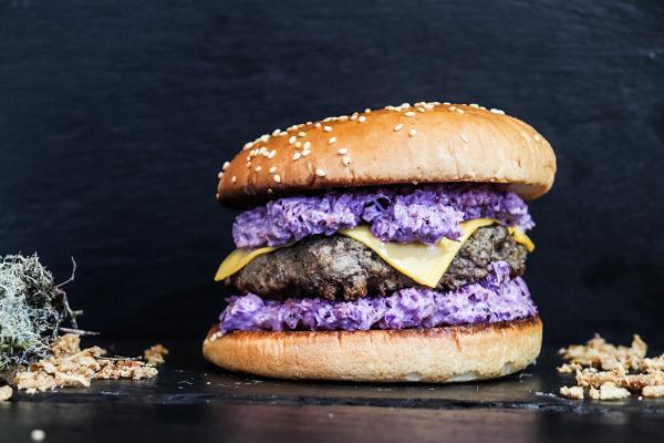 Special retro burger