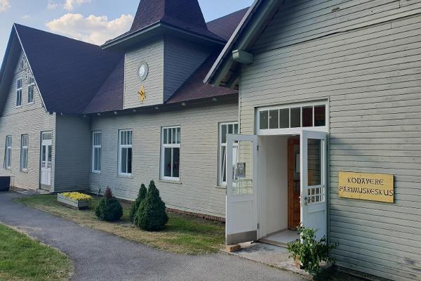 Kodavere Pärimuskeskuse välisvaade