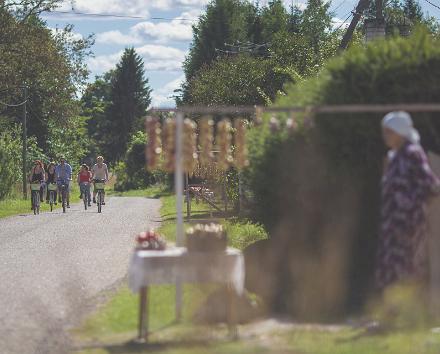 Jalgrattamarsruut Saaremaal: Kihelkonna - Leisi