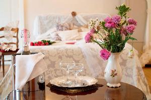 Zimmer für Brautpaare im Gutshof Anija
