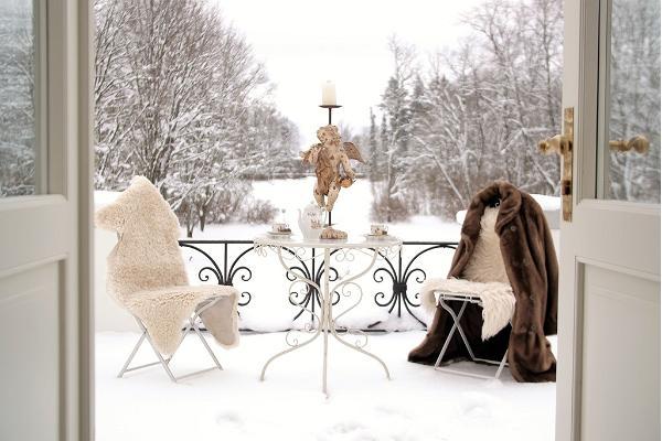 Anija mõis talvel