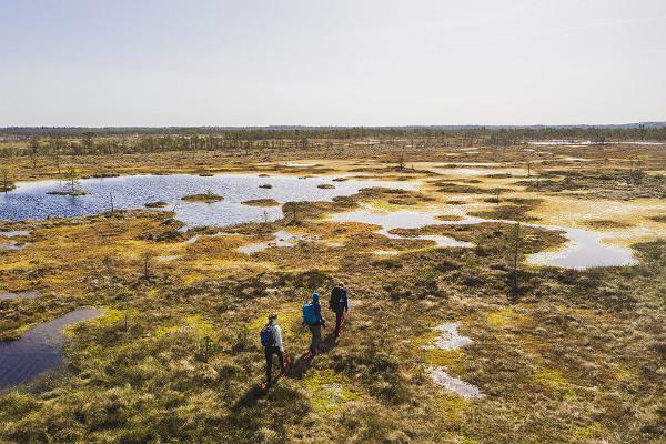 Rummu raba retk räätsadel loodusest hoolijatele koos loodusgiidiga