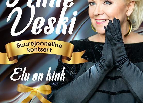 Anne Veski suurejoonelise kontserdi