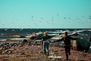 Tur till Nargö på egen hand med virtuell reseguide