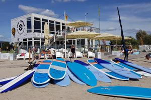 Wasserfahrradverleih des Pärnuer Surfzentrums in Pärnu und an anderen Orten Estland