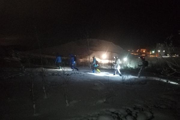 Öömatk Kohtla-Nõmme Alpides
