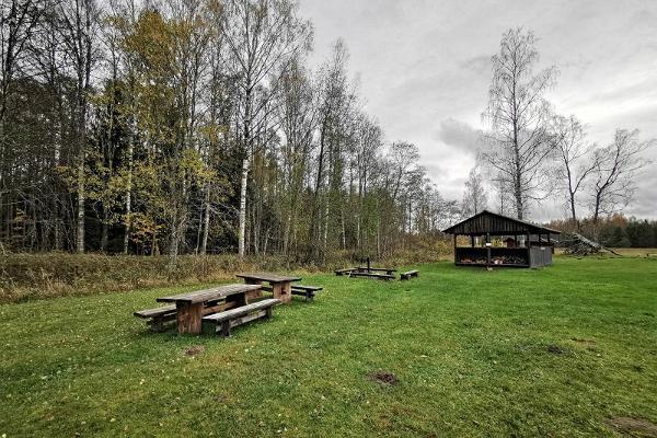Soomaa külastuskeskuse puhkepaik