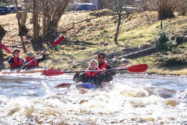 Kanuumatk ja süstamatk Võhandu jõel