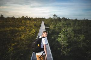 Riisa study trail in the Soomaa National Park