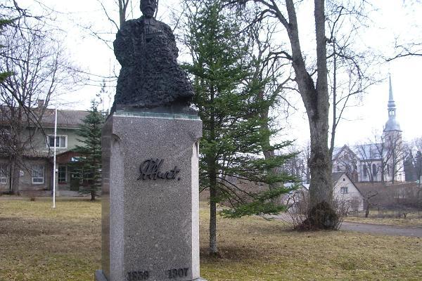 Jakob Hurda monument Otepääl