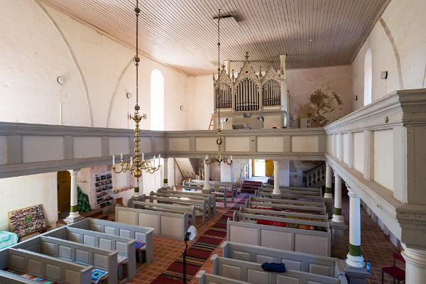 Puhja Church, organ