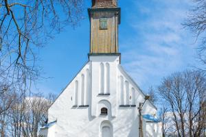 Puhjan kirkko ulkoa