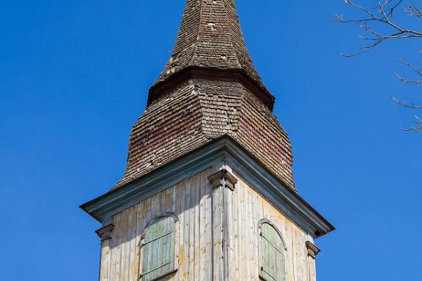Spire of Puhja church