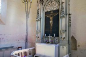 Kirkon alttari