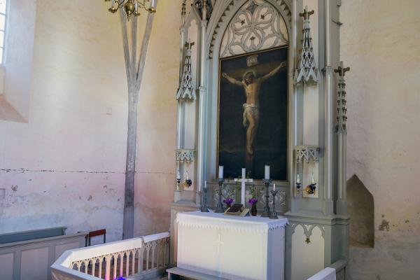 Altar of the church