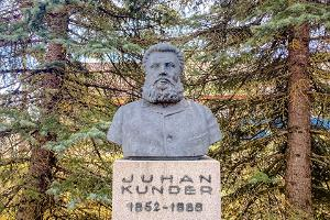 Juhan Kunders monument