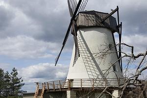 Besuchszentrum in der Windmühle Võivere