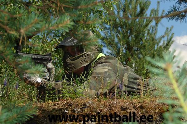 Paintball vanas sõjaväebaasis