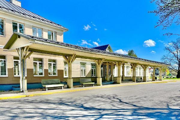 Raudteejaama kompleks Türil