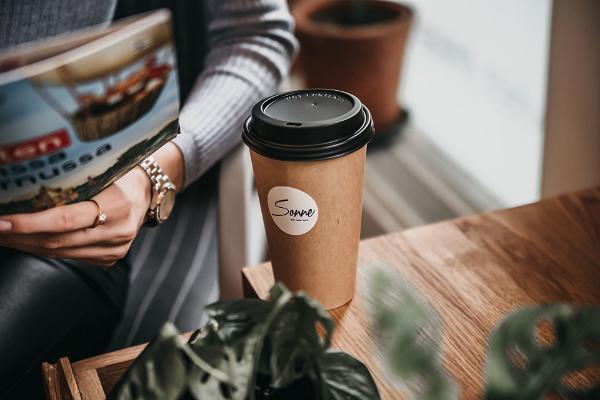 Пярнуский информационный пункт для туристов в кафе – дизайнерском магазине Sonne
