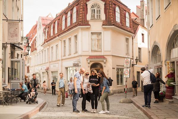 Mobile game 'Jüri von Kaufmann's adventure in Tartu'