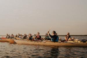 Zweitägige Kajaktour zu den Inselchen vor Hiiumaa (dt. Dagö)