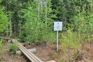 Väätsan luonnonsuojelualueen vaellusreitti