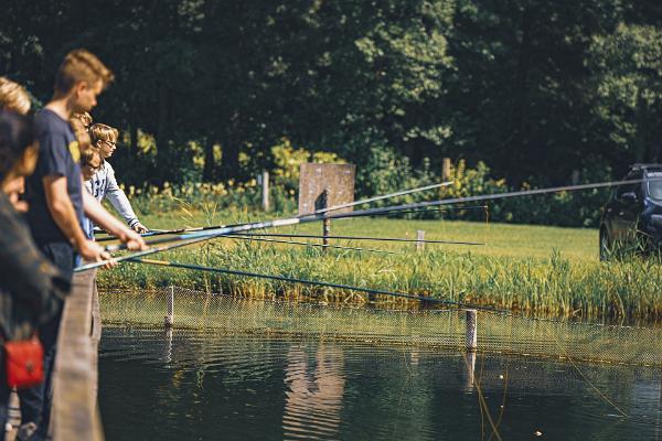 Kalapüük Pidula Forellis- tule püüa üks priske vikerforell!