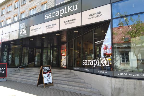 Geschäft Sarapiku in der Innenstadt von Kuressaare