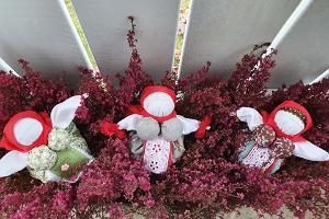 """""""Travnitsa"""" oder Workshop für mit Kräutern gefüllte Puppen auf dem Russischen Bauernhof"""