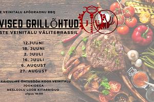 """Vīnsaimniecības """"Järiste Veinitalu"""" un """"Põdraonu BBQ"""" vasaras grila vakari"""