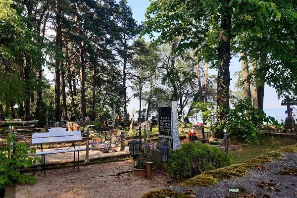 Vecticībnieku kapsēta Ninas ciematā