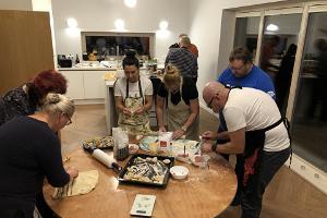 Sinine Maja ühise kokkamise töötoad