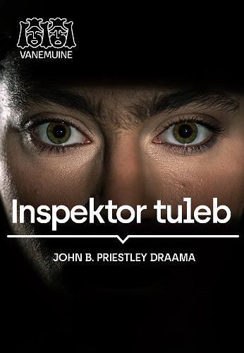 """Lavastuse """"Inspektor tuleb"""" plakat"""